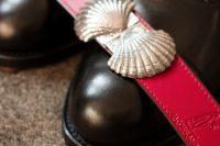 Cinturones Hebilla de Plata